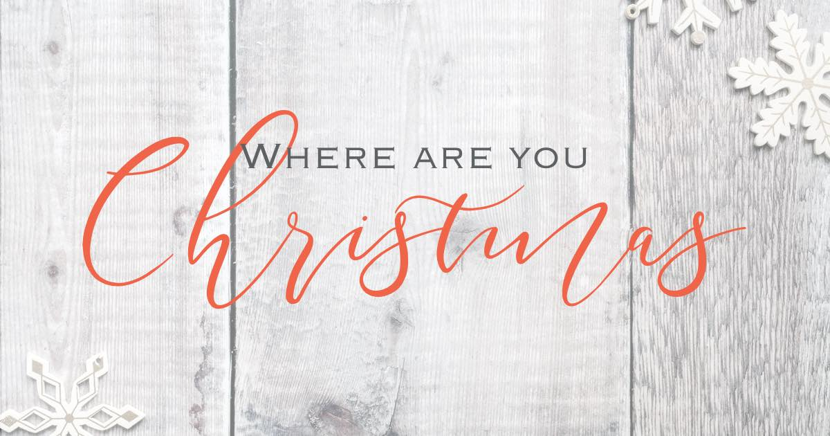 Where are you chirstmas 2