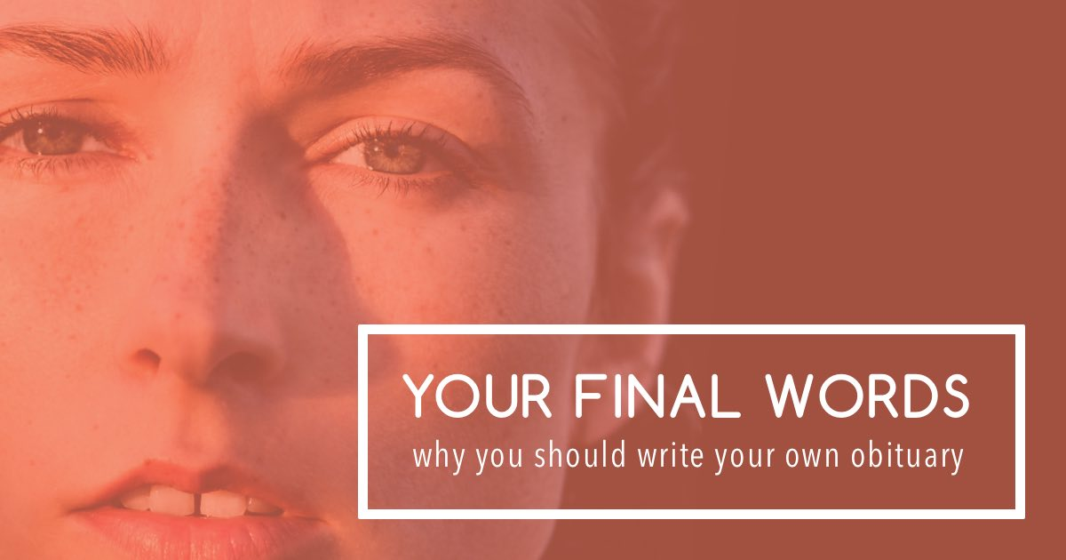 Your final words 2